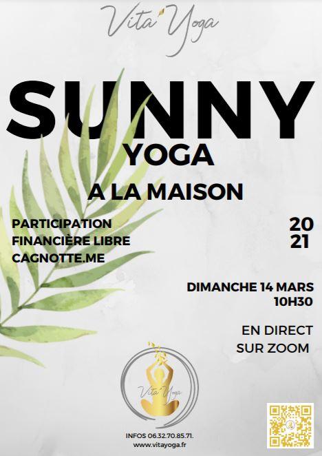 Sunny yoga 14 mars 2021